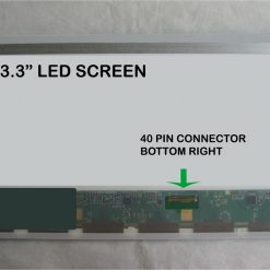 "13.3"" Laptop Screen LED 40 Pin"