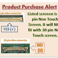 Samsung LTN140AT08-S01 Laptop LCD Screen Comp Replacement 14.0